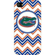 @Heather Young...this has #gatrgrl written all over it!!!  Florida Gators Chevron Print iPhone 5 Case