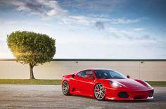 I don't care if she's not the fastest. She's the prettiest <3 Ferrari F-430