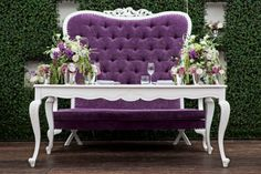 Sweetheart table, why not have a sweetheart chair!