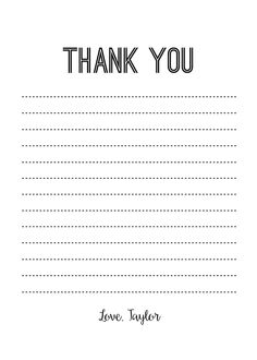 Send a #thankyou note! CatPrint Design #470