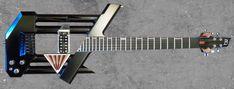 Unique Guitar Designs | ... to push the envelope of modern guitar design with the 33 1 3 guitar