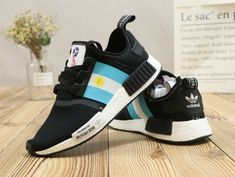 Cheap Priced Adidas NMD XR1 PK FIFA World Cup 2018 Core Black Sky Blue White.  Nick · Shoes 09e44c0c1
