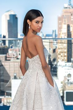 Justin Alexander Signature wedding dresses focus on all of the details. From impeccable craftsmanship to modern styling, Signature dresses are perfect for your wedding day. Luxury Wedding Dress, Wedding Gowns, Wedding Day, A Line Gown, Couture, One Shoulder Wedding Dress, Bride, Style, Modern