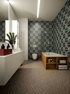Great Bathroom Design With Red Color Theme #great #bathroom Impressive Great Bathroom Ideas Review