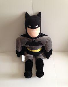 BatMan Plush Pillow Friend by ThingsIBuyForYou on Etsy