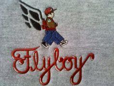 FlyBoy-Long Sleeve CrewNeck Sweater