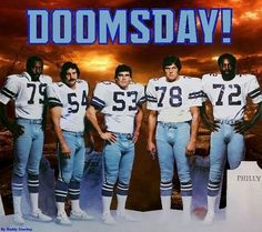"Doomsday Defense - Harvey Martin, Randy White, Bob Bruening, John Dutton & Ed ""Too Tall"" Jones"