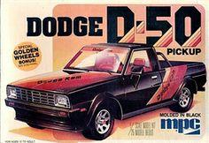 MPC Dodge D-50 Pickup box art