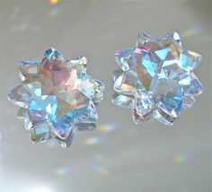 Crystal Two AB Star with 8 Points Prism Ornament Suncatcher Pendants, 30mm | Collectibles, Holiday & Seasonal, Christmas: Current (1991-Now) | eBay!
