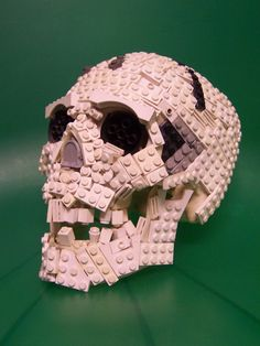 Pink Lego Skull by Matt Armstrong; I like to find the original pin wheneve possible in order to give the original artist/baker credit.