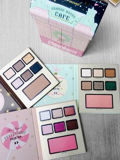 HOTEL grand cafe too faced