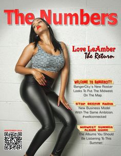 The Numbers Magazine: The Numbers Magazine Cover & Commercial.