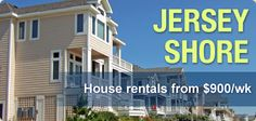Find the perfect New Jersey Shore Rental