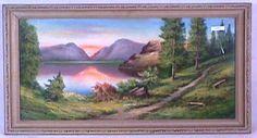 83: Andrew Gunderson - Landscape Pastel : Lot 83