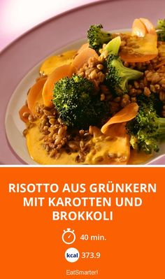 Risotto, Eat Smarter, Yams, Smoothie Recipes, Main Dishes, Food And Drink, Veggies, Beef, Cooking