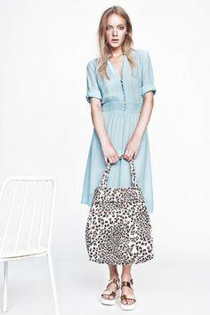 Lovely light blue dress from Baum und Pferdgarten  ss 2014, danish label.