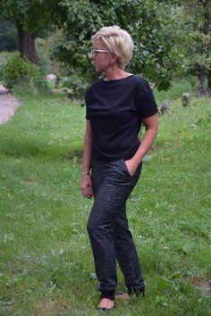 Bluzka CLARA black Harem Pants, Black, Fashion, Moda, Harem Trousers, Black People, Fashion Styles, Harlem Pants, Fashion Illustrations