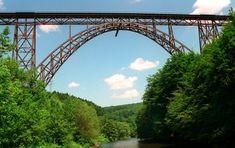 Müngsten Bridge, Solingen, Germany: Highest Steel Railroad Bridge in Germany