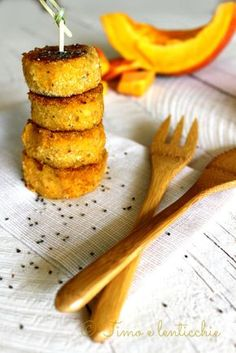 Polpette di zucca e grano saraceno | Timo e lenticchie