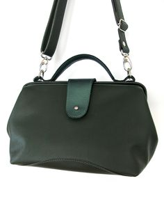 leather bag by birgitte aalten