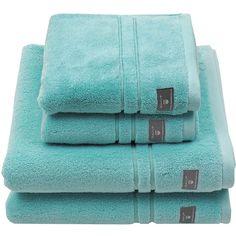 Gant Premium Terry Towel - Lagoon - Bath Towel ($50) ❤ liked on Polyvore featuring home, bed & bath, bath, bath towels, blue, terry cloth bath towels, lightweight bath towels, gant, terry bath towels and blue bath towels