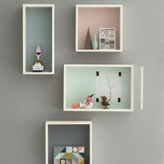Ferm Living Display Boxes - 4 sizes and colours available. | Nubie - Modern Baby Boutique