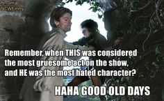 Game of thrones funny meme. Good old days