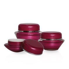 J02 Round Acrylic Jars
