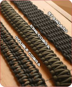 Sandstorm Custom Rifle Slings - Adjustable Slings I like the double cobra