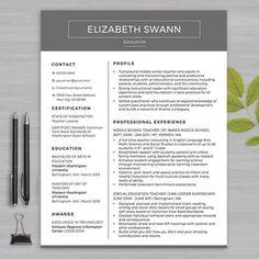 resume teacher template for ms word educator resume writing