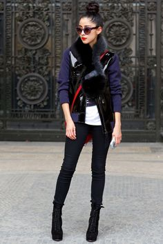 6a94d6d5a13 29 Outfit Ideas From The Streets Of Paris Fashion Week