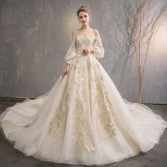 Boho Wedding Dress With Sleeves, Wedding Dress Train, Long Wedding Dresses, Bridal Dresses, Wedding Gowns, Off Shoulder Wedding Dress Lace, Renaissance Wedding Dresses, Fantasy Wedding Dresses, Wedding Lace