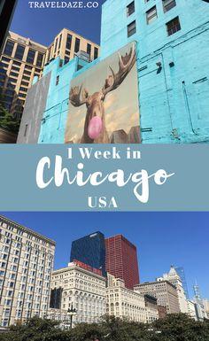 1 Week in Chicago (Instagram Travel Guide) #chicago