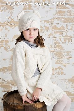 Lemon Loves Lime Knit Shrug in Winter White Fall 2014 Preorders for girls clothing and accessories that are cute and fashionable Persnickety Clothing, Little Girl Closet, Knit Shrug, Fade Styles, Holiday Outfits, Winter White, My Girl, Kids Outfits, Girl Fashion