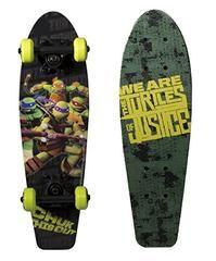 "PlayWheels Teenage Mutant Ninja Turtles 21"" Wood Cruiser Skateboard"