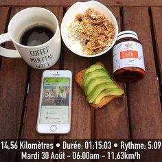 🌿 Pour bien commencer la journée, faites comme @lily.running : un bon petit déjeuner et du #goji #naturaforce ! #teamnaturaforce 📸 @lily.running