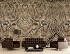 Photomural Article nr: 457001 - Tree rings - Size: 372 x 280cm   Like us on facebook: https://www.facebook.com/wecobv