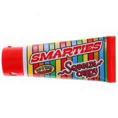 <p>Smarties Squeeze Candy Tube 2.25 Oz – tangy fruity squeezy liquid mixed smarties candy tubes.</p> Cereal Nutrition, Nutrition Bars, Mint Candy, Sour Candy, Test Tube Crafts, Munchies Chips, Free Halloween Coloring Pages, Office Snacks, Mexican Candy