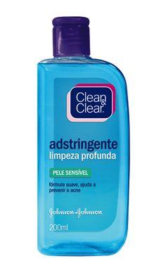 CLEAN & CLEAR® Adstringente Limpeza Profunda | JnJ Brasil