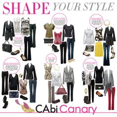 CAbi clothes are designed with YOU in mind! Women of all shapes and sizes can flaunt their assets or hide & disguise, looking fabulous all the while! Check out this week's #CAbiCanary to Shape Your Style!