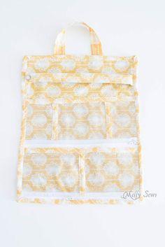 Travel Jewelry Bag Pattern Tutorial