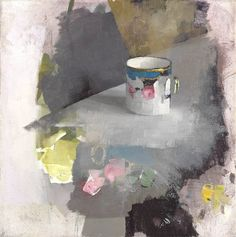 Diarmuid Kelley - I like the way the edges remain unfinished  #unfinished #still life