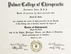 Chiropractic hardest bachelor degrees