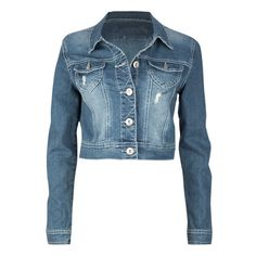 AMETHYST JEANS Womens Denim Jacket (31 CAD) ❤ liked on Polyvore featuring outerwear, jackets, tops, coats, dark denim, blue jean jacket, blue denim jacket, long sleeve jean jacket, long sleeve jacket and dark denim jean jacket