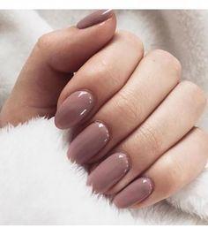 Fall Almond Nails, Acrylic Nails Almond Short, Classy Acrylic Nails, Autumn Nails, Neutral Acrylic Nails, Classy Gel Nails, Classy Almond Nails, Clean Nails, Acrylic Colors