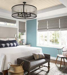 Color of the Year 2021 Aegean Teal Trending Paint Colors, Paint Colors For Home, House Colors, Benjamin Moore Paint, Benjamin Moore Colors, Interior Color Schemes, Interior Design, Teal Walls, Color Of The Year