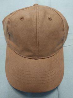Suede Ball Cap (Color  TAN) Adjustable.....Brand New. TansNew FashionSun  Tanning 486cd9e754e4