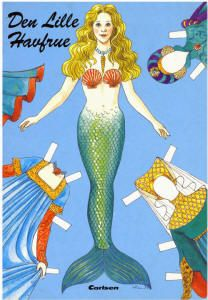 The Little Mermaid and other paper dolls