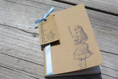 Mini Alice In Wonderland Moleskine Journal