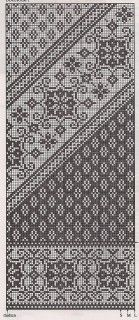 Beautiful pattern for knitting or cross stitch